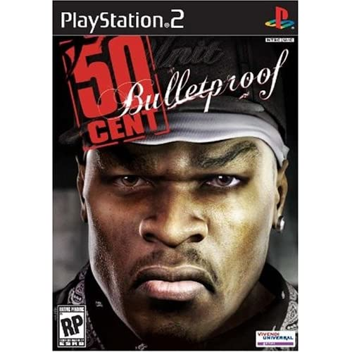 50 Cent: Bulletproof For PlayStation 2 PS2 With Manual and Case