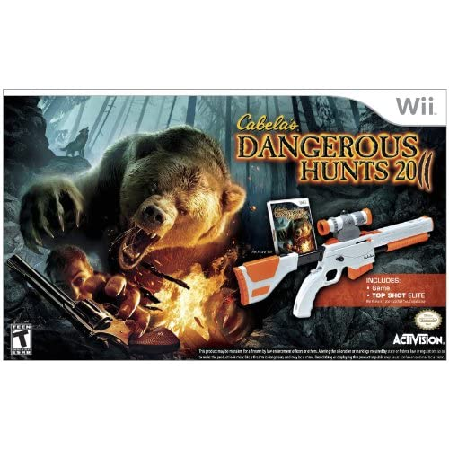 Image 0 of Cabela's Dangerous Hunts 2011 With Top Shot Elite For Wii