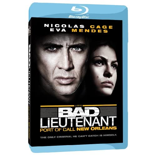 Bad Lieutenant: Port Of Call New Orleans Blu-Ray On Blu-Ray With Nicolas Cage