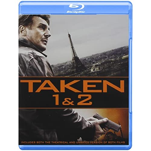 Image 0 of Taken 1 And 2 On Blu-Ray With Gries Jon
