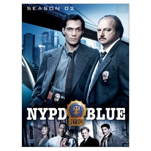 Image 0 of Nypd Blue Season 2 On DVD With Jimmy Smits Mystery