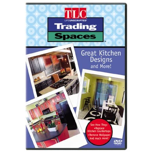 Trading spaces great kitchen designs and more on dvd with for Kitchen designs and more