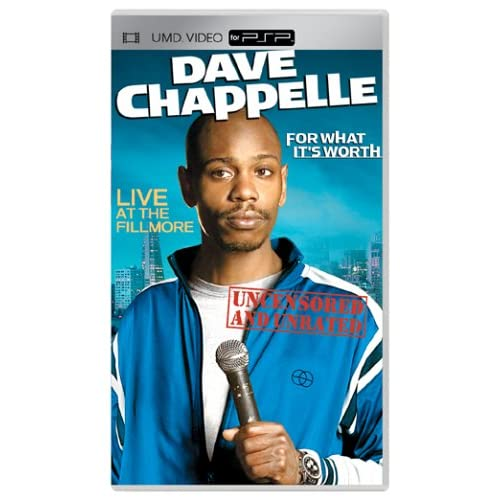 Image 0 of Dave Chappelle For What It's Worth UMD For PSP