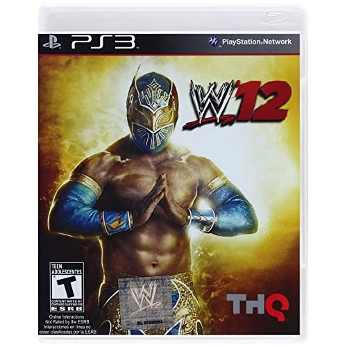 WWE '12 For PlayStation 3 PS3 Wrestling