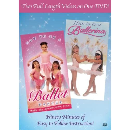 How To Be A Ballerina/how To Be A Ballet Dancer On DVD