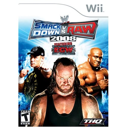 Image 0 of WWE Smackdown Vs Raw 2008 For Wii And Wii U Wrestling