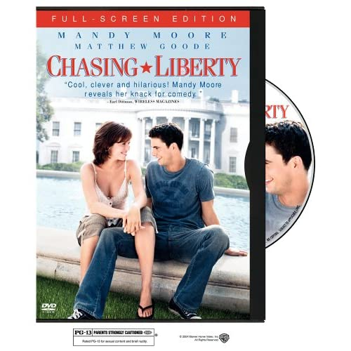 Image 0 of Chasing Liberty Full Screen Edition On DVD With Mandy Moore