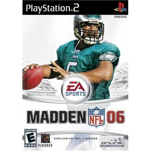 Madden NFL 2006 For PlayStation 2 PS2 Football