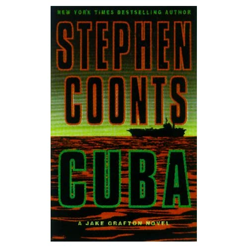 Cuba By Coonts Stephen Gilliland Richard Narrator On Audio Cassette