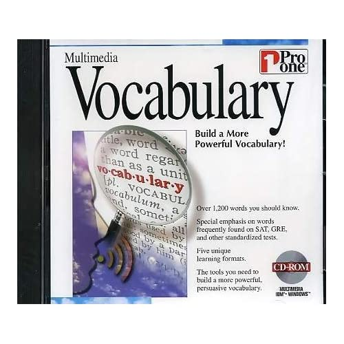 Image 1 of Pro One Multimedia Vocabulary For PC Software