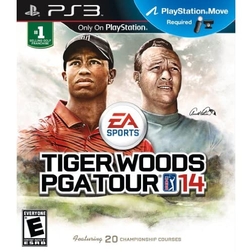 Tiger Woods PGA Tour 14 For PlayStation 3 PS3 Golf