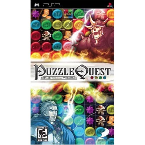 Image 0 of Puzzle Quest: Challenge Of The Warlords Sony For PSP UMD
