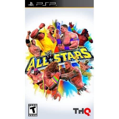 Image 0 of WWE All Stars Sony For PSP UMD Wrestling