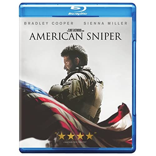 American Sniper Blu-Ray On Blu-Ray With Bradley Cooper