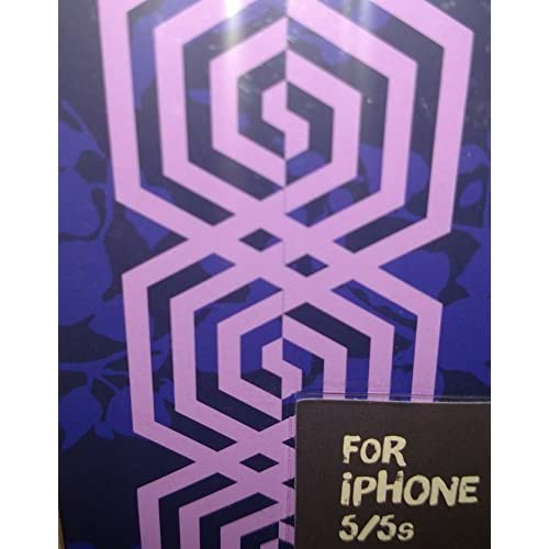 Image 1 of Purple iPhone 5 5S SE Case Cover Fitted C