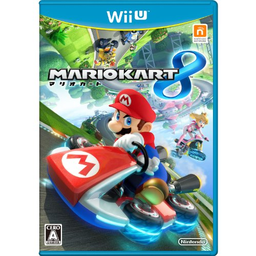 Nintendo Mario Kart 8 With Manual and Case