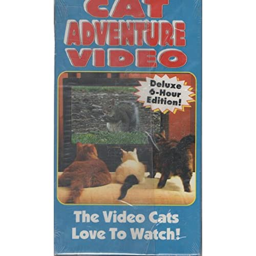 Cat Adventure Video: The Video Cats Love To Watch Deluxe 6-HOUR Edition! On VHS