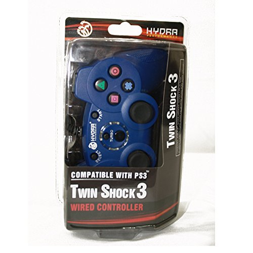 Hydra Performance Costbuy PS3 Wired Controller For Sony / PC Controller Blue Gam