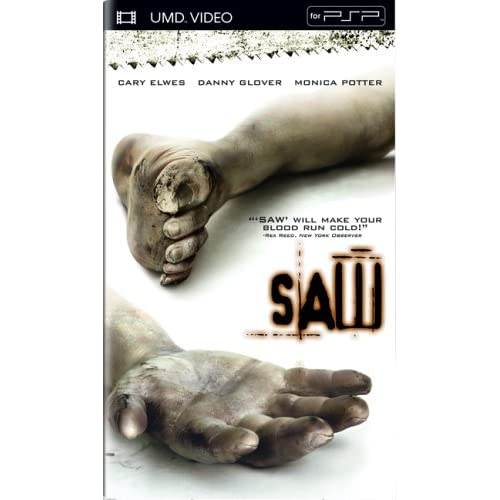Saw UMD For PSP On With Cary Elwes