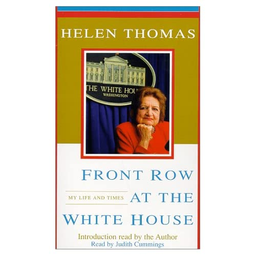 Image 0 of Front Row At The White House: My Life And Times By Thomas Helen Cummings Judith