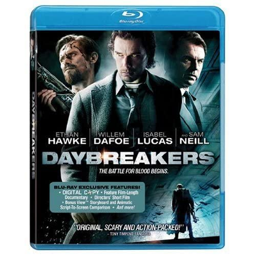 Daybreakers Blu-Ray On Blu-Ray With Willem Dafoe