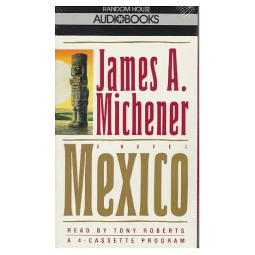 Image 0 of Mexico By James A Michener Tony Roberts Reader On Audio Cassette