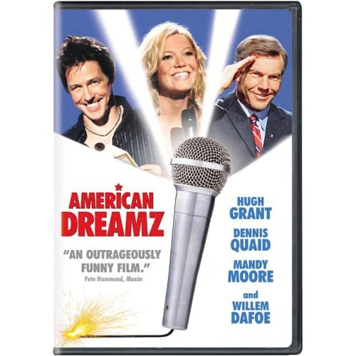 Image 1 of American Dreamz On DVD With Hugh Grant Comedy