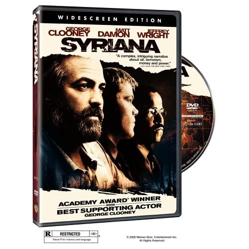 Syriana Widescreen Edition On DVD With George Clooney