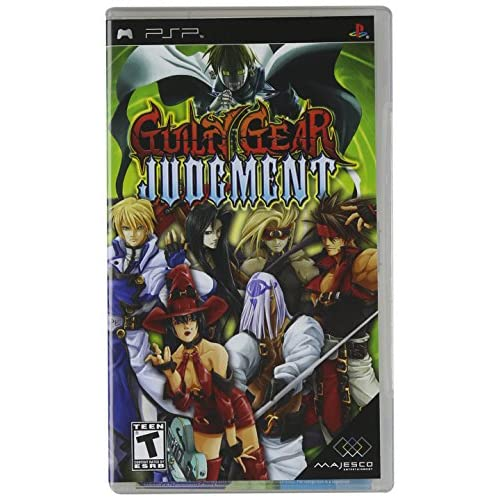 Image 0 of Guilty Gear Judgment Sony For PSP UMD