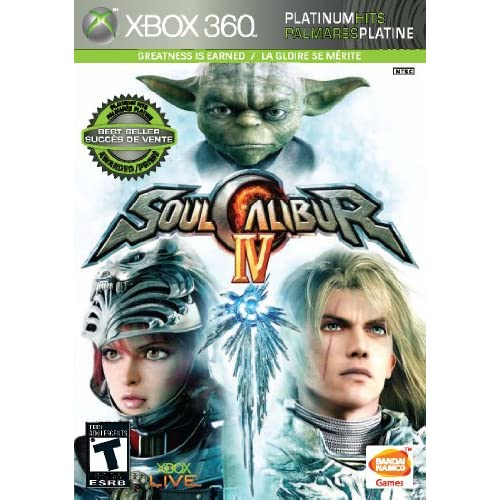 Image 0 of Soul Calibur IV For Xbox 360 Fighting