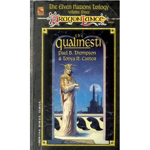 Dragon Lance The Qualinesti Paperback by P And T Thompson Carter Book