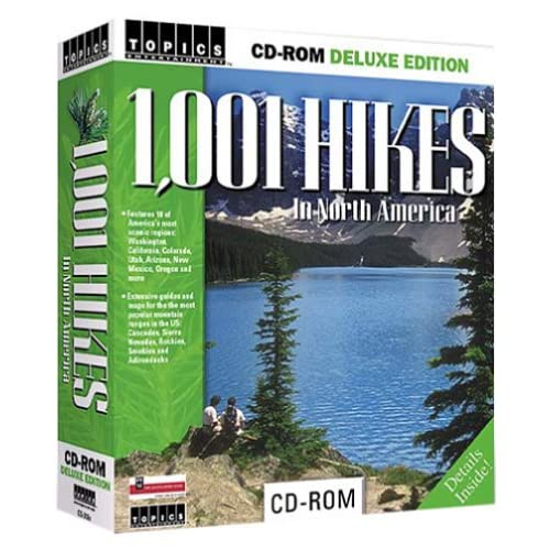 1001 Hikes In North America Dlx Edition Computer Software Travel
