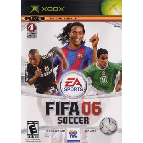FIFA Soccer 06 Xbox For Xbox Original With Manual and Case