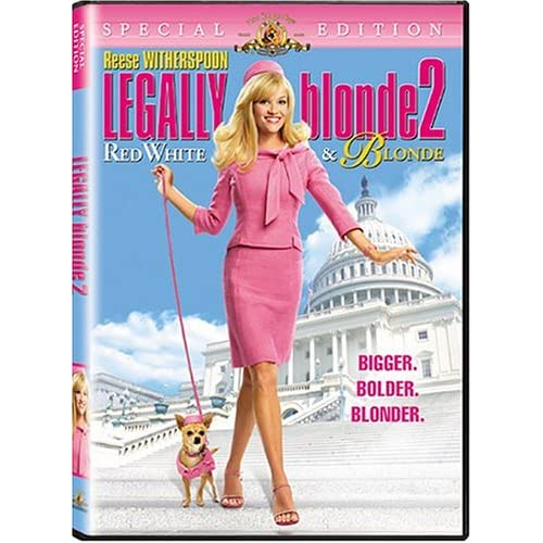Image 1 of Legally Blonde 2 Red White And Blonde Special Edition On DVD With