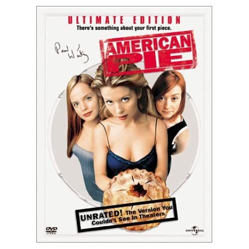 Image 0 of American Pie Widescreen Unrated Ultimate Edition On DVD With Jason Biggs Comedy