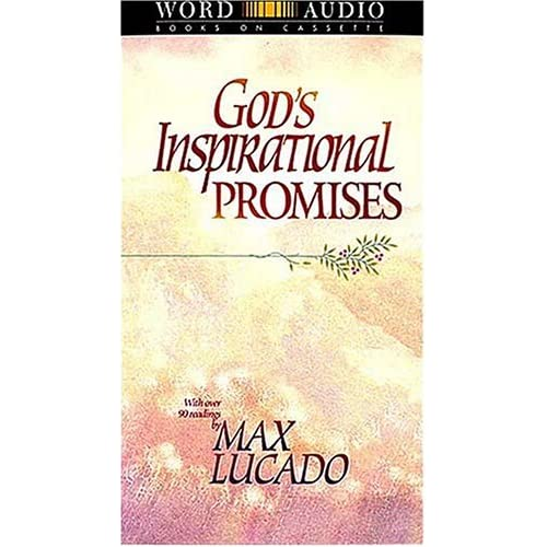 Image 0 of God's Inspirational Promises Repackage By Max Lucado On Audio Cassette