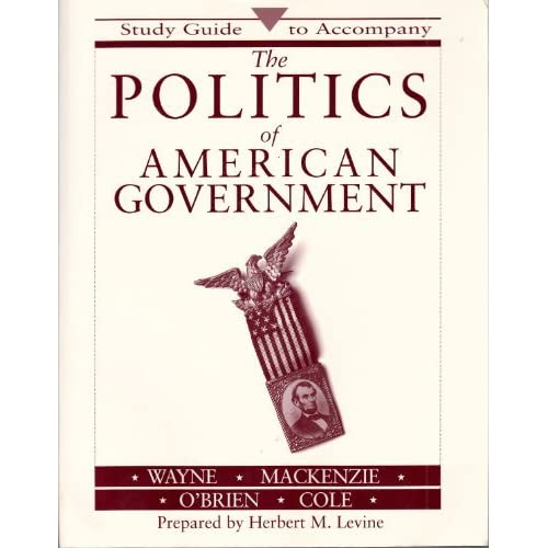 Image 0 of The Politics Of American Government by Stephen J Wayne Book