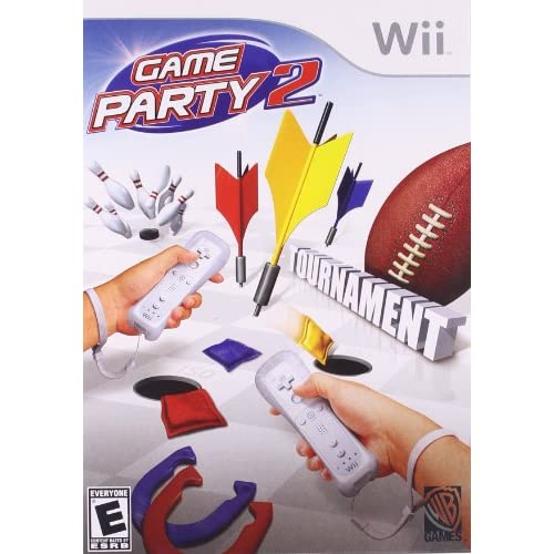 Game Party 2 For Wii Arcade