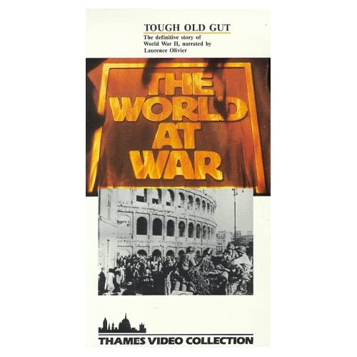 Image 0 of World At War:Tough Old Gut/Slipsleeve On VHS With Laurence Olivier