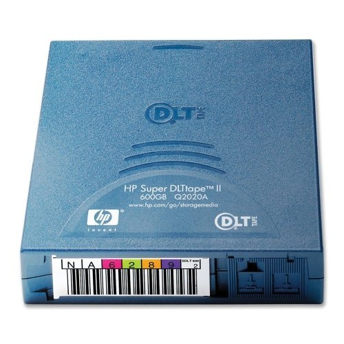 Image 0 of Case Of 2 HP Super Dlt Tape Ll Data Cartridge-Tape Cartridge Cleaning Sdlt II 30