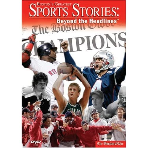 Image 0 of Boston's Greatest Sports Stories Beyond The Headlines On DVD