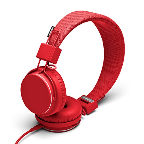 Urbanears Plattan On-Ear Headphones Tomato 4091011 Earphones Red 04091011