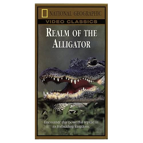 Image 0 of National Geographic's Realm Of The Alligator On VHS
