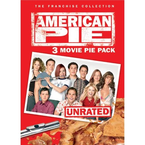 Image 0 of American Pie: 3 Movie Pie Pack The Franchise Collection On DVD With Jason Biggs