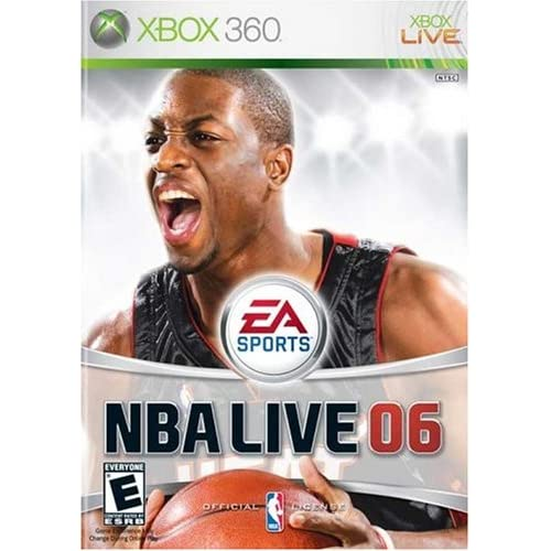 NBA Live 06 For Xbox 360 Basketball With Manual and Case