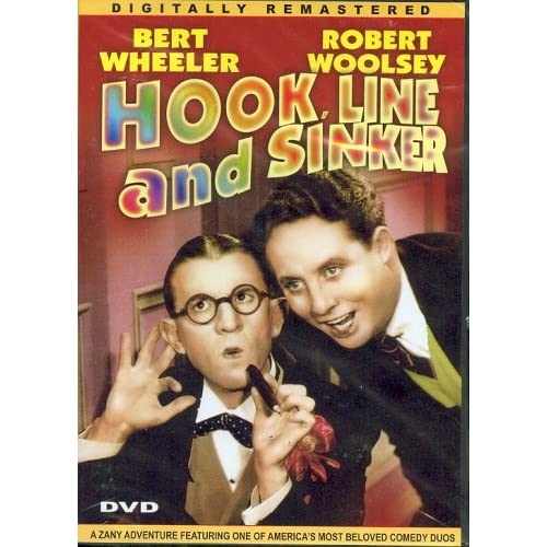 Image 0 of Hook Line And Sinker On DVD with Bert Wheeler