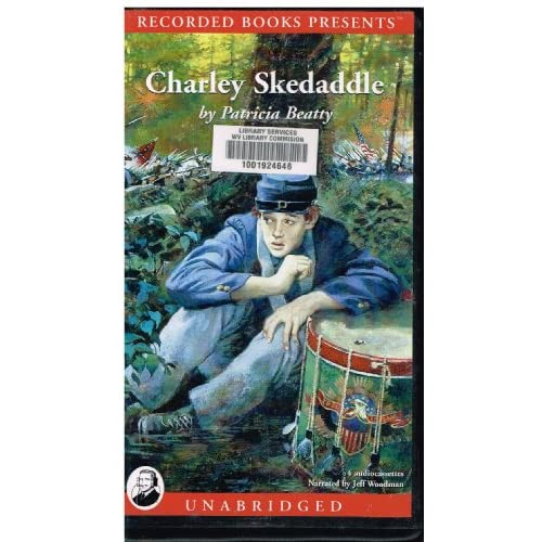 Image 0 of Charley Skedaddle By Patricia Beatty Jeff Woodman Narrator On Audio Cassette