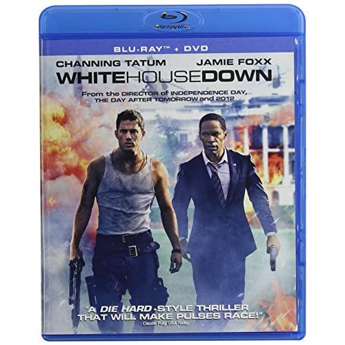 Image 0 of White House Down Two Disc On Blu-Ray With Channing Tatum