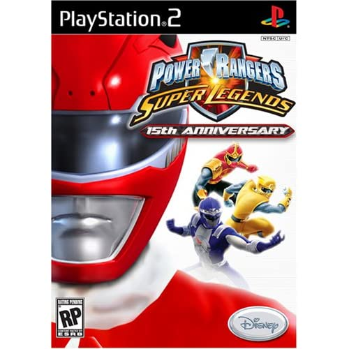 Image 0 of Power Rangers Super Legends For PlayStation 2 PS2 Disney