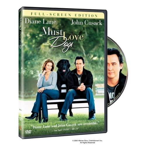 Image 0 of Must Love Dogs Full Screen Edition On DVD With Diane Lane Comedy